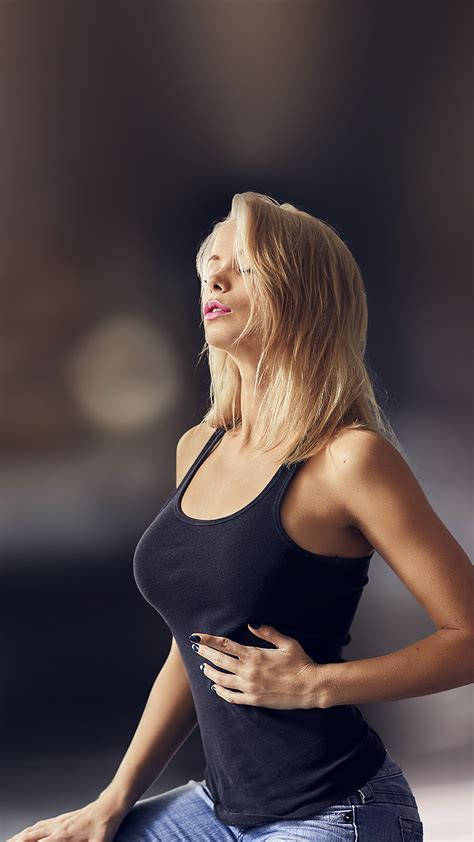 ho girl sexy woman model blonde wallpaper