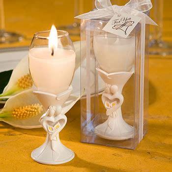 stylish bride  groom design champagne flute candle