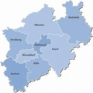 Nord Rhein Westfalen : karte nrw ~ Buech-reservation.com Haus und Dekorationen