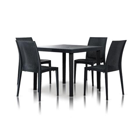 square dining table set dreamfurniture com bistrot modern square dining table set