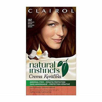 Instincts Clairol Hair Natural Brown Chocolate Ammonia