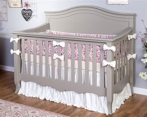gray convertible crib li l deb n heir silva furniture baby cribs nursery