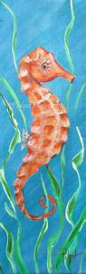 Seahorse Painting Pinterest images