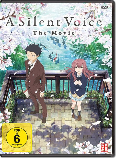 silent voice anime movie a silent voice the movie anime dvd world of games