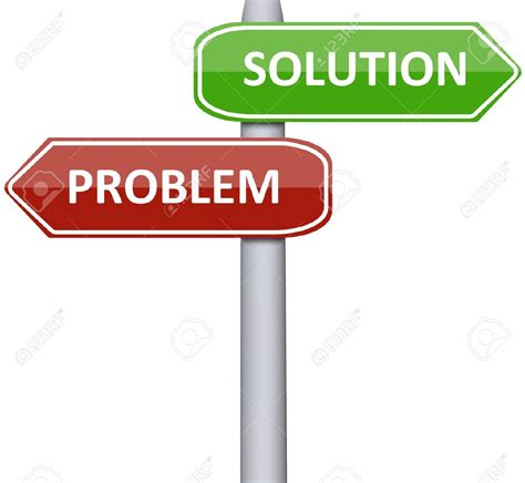 Solution Clipart Problem And Solution Clipart Collection