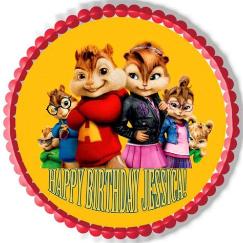 alvin and the chipmunks cake toppers alvin and the chipmunks road chip 4 edible cake topper