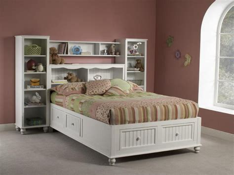 Size White Storage Bed With Bookcase Headboard by Fresh Interior Album Of Size Storage Bed With
