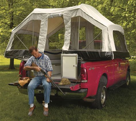 Tent trailer on truck bed   Expedition Portal