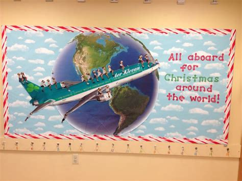 around the world bulletin board in my classroom teaching ideas around