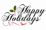 Image result for happy holidays clip art free