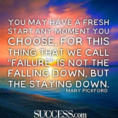 Start Fresh Quotes Journey Thing Success Beginnings
