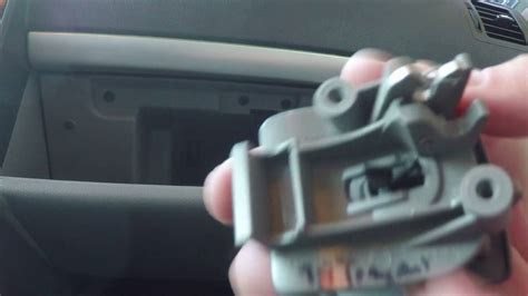 glove box latch replacement  chevrolet uplander