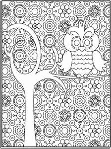 abstract-owl-coloring-pages | | BestAppsForKids.com