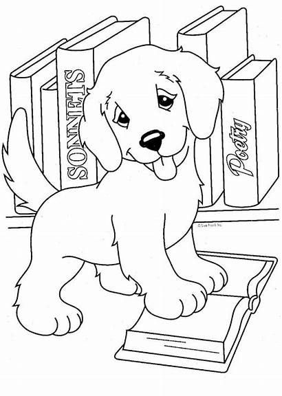Coloring Library Pages Week National