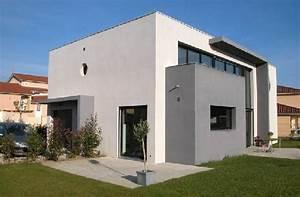 Maison Moderne Toit Plat : maison toit plat maison contemporaine a toit plat ~ Nature-et-papiers.com Idées de Décoration