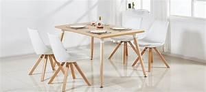 Table A Manger Rectangulaire : table scandinave pas cher ~ Teatrodelosmanantiales.com Idées de Décoration
