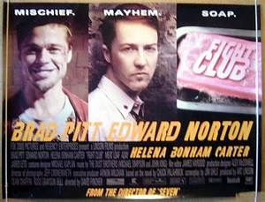 Fight Club - Original Cinema Movie Poster From pastposters ...