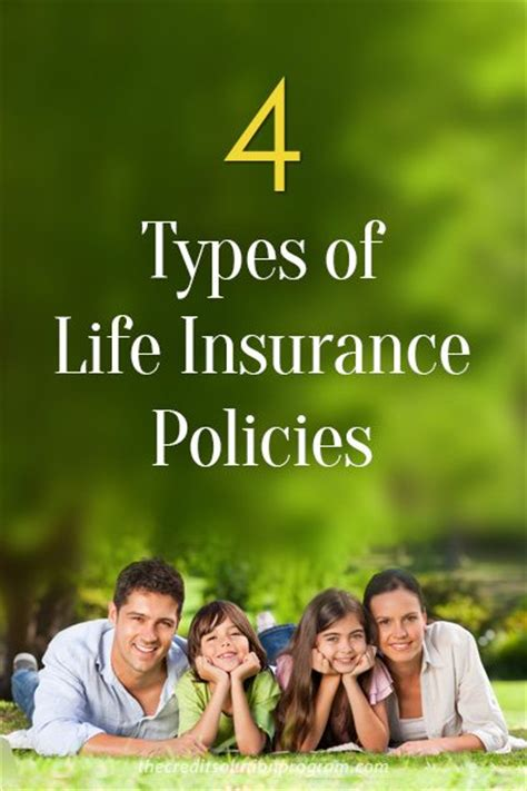 Even now a days life insurance became one of the top investment tool, where can get good money returns with life cover. The 4 Types of Life Insurance Policies