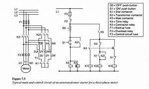 Main  U0026 Control Circuit Of An Auto