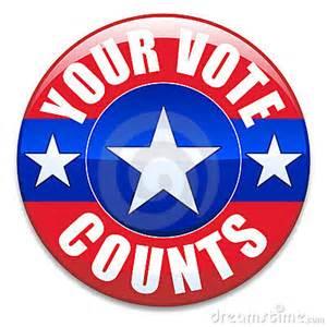 Election Your Vote Counts Clip Art