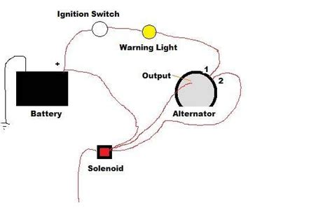 3 Wire Delco Alternator With Regulator Wiring Diagram by How To Wire An Ac Delco 3 Wire Alternator It Still Runs