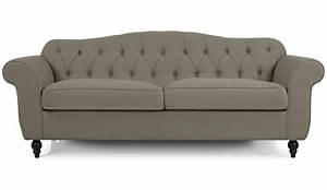 Photos canape chesterfield tissu for Canapé chesterfield tissu