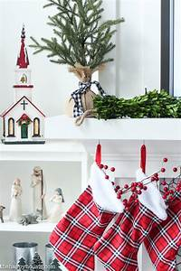 Classic Red White Christmas Mantel Decor The Happy Housie