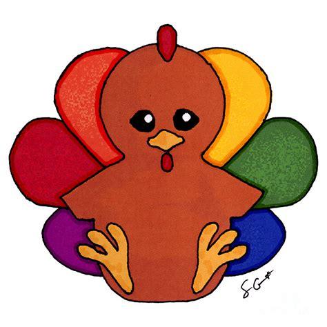 cartoon drawings  turkeys clipart