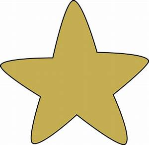 Gold Star Border Clipart - Clipart Suggest