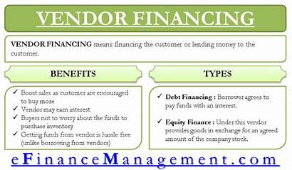 Financing Vendor Meaning Types Importance Capital Working