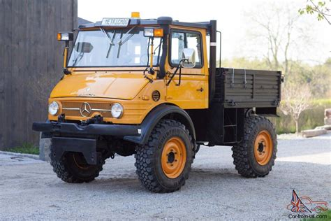 Unimog Cer For Sale by Unimog Mercedes