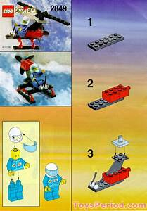 Lego 2849 Gyrocopter Set Parts Inventory And Instructions