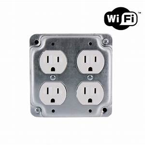 1080p Hd Wifi Streaming Hardwired Functional Quad Outlet