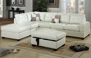 le salon d39angle cuir votre endroit chic preferee With tapis chambre enfant avec canapé cuir blanc design