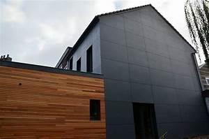 Bardage Fibre Ciment : panneau fibre ciment construction maison b ton arm ~ Farleysfitness.com Idées de Décoration