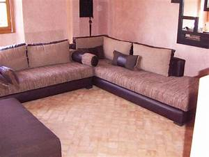 Salon Oriental Moderne : mobilier marocain salon marocain ~ Preciouscoupons.com Idées de Décoration