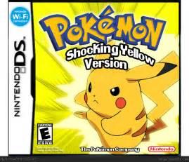 pokemon shocking yellow cover