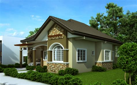 Very Pleasant American Bungalow House Plans — Bungalow House