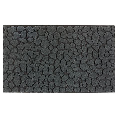 tapis en caoutchouc recycl 233 pour l ext 233 rieur gris fonc 233