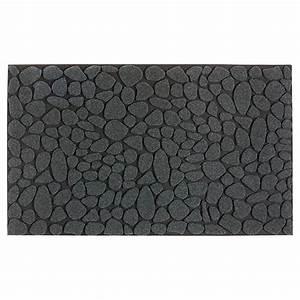 tapis en caoutchouc recycle pour l39exterieur gris fonce With tapis caoutchouc extérieur