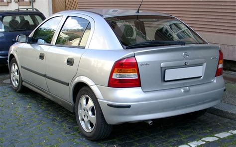 Opel Astra G by File Opel Astra G Rear 20080424 Jpg Wikimedia Commons