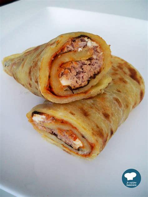 la cuisine tunisienne mlewi au thon recette tunisienne food