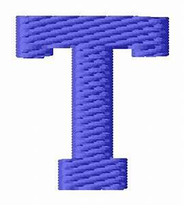 Sports Embroidery Design: Sport Letter T from Grand Slam ...