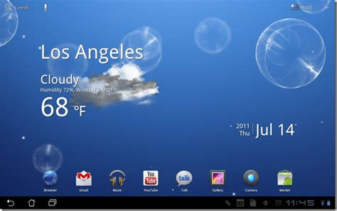 Get Live Wallpapers From Galaxy Tab 10.1 On Your Android