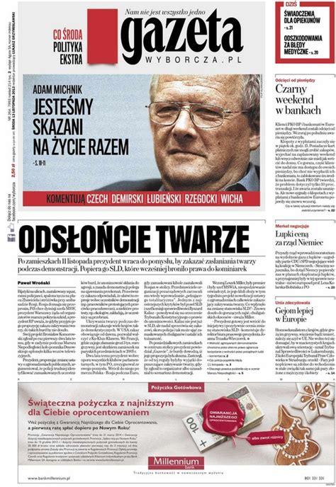 Gazeta Wyborcza 264/2013 - Polityka i społeczeństwo ...