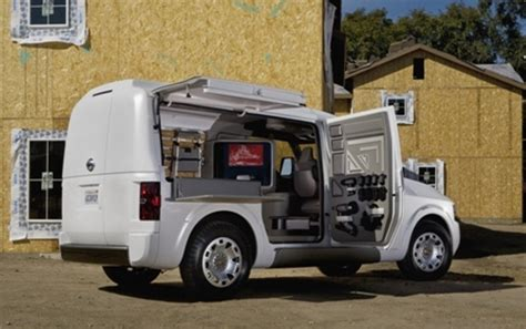 nissan cargo van nv2500 nissan nv2500 concept debuts at the 2009 work truck show