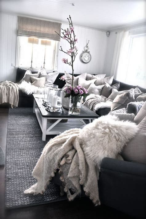 Cozy Living Room Inspiration by Middagskveld In 2019 Wishful Realities Living Room