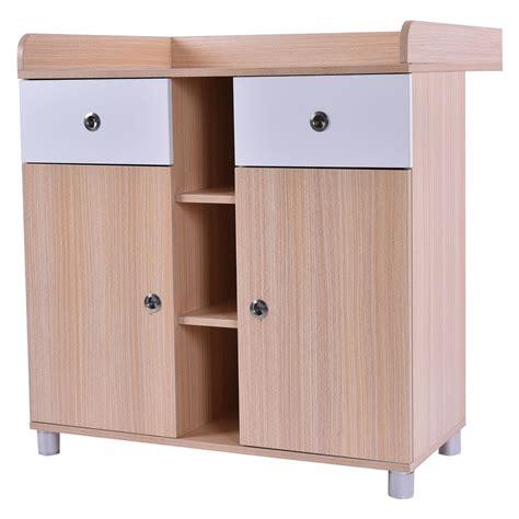 Dresser Change Table - wooden baby changing table nursery station dresser
