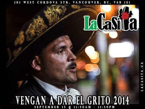 Join the Mexican Independence Day celebration at La Casita ...