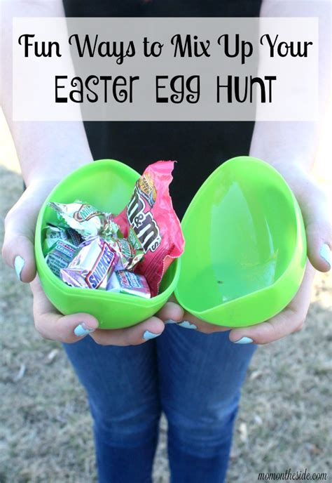 Fun Ways To Mix Up Your Easter Egg Hunt  Mom On The Side